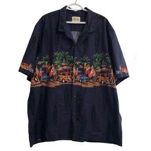 Royal Hawaiian Creations short sleeve shirt. 3X